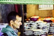 Vendor at Bhagsu nag temple
