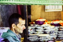 Vendor at Bhagsu nag temple